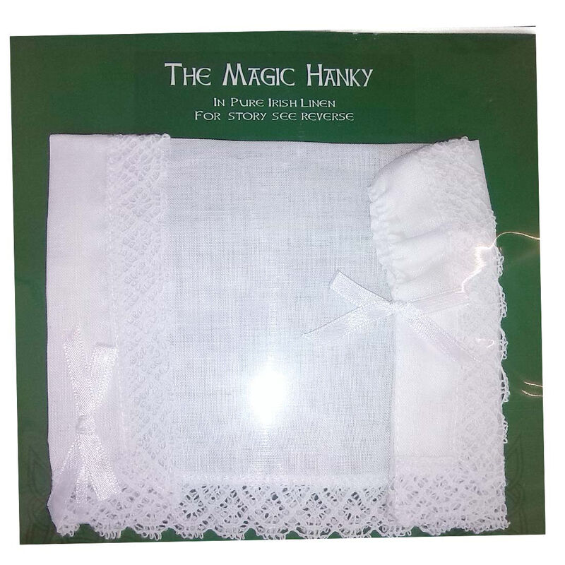The Magic Hanky Made With Pure Irish Linen Comes With Its Own Story