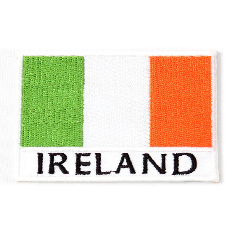 Ireland Print And Tri-Colour Designed Patch