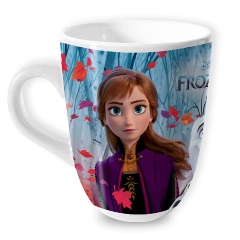 Zaini Disney Frozen II Mug With Crockki Bites Chocolate Cereal