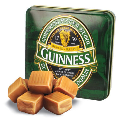 Guinness Official Merchandise Archive Label Design Fudge Tin  100G
