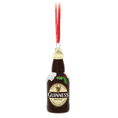 Guinness Christmas Bottle Bauble
