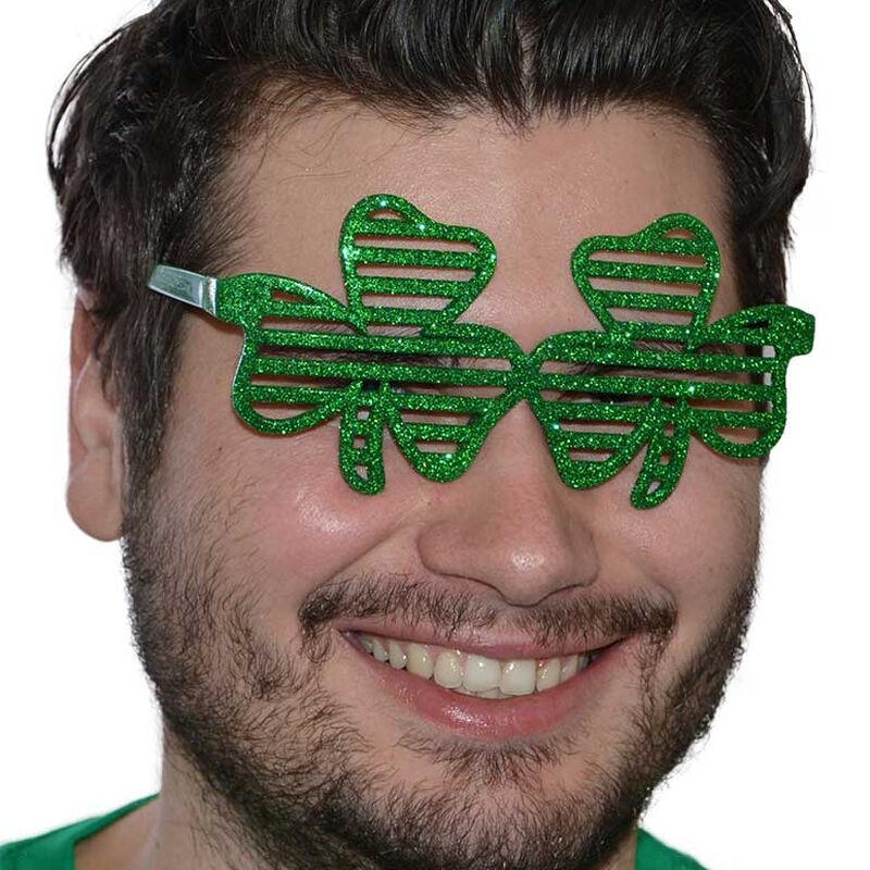 Irish Designed Glitter Shamrock Shades