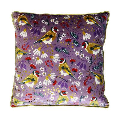 Tipperary Crystal Goldfinch Birdy 45cm Cushion