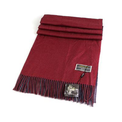 Celtic Ore Authentic Irish Two-Sided Scarf  Red/Blue Colour