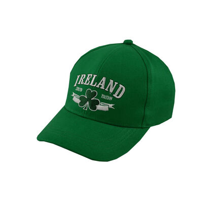 Baseball Cap For Kids With Ireland Limited Edition  Green Colour