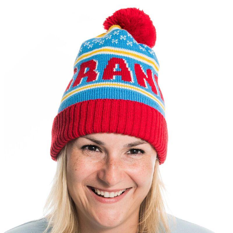 Irish Socksciety Bobble Hat With GRAND Design