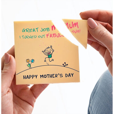 Boutique Chocolat - Great Job Mum Mother's Day Chocolate Card