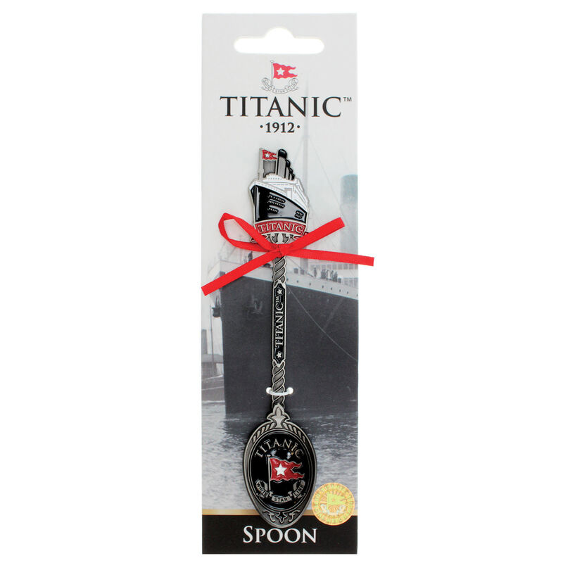 Titanic 1912 White Star Line Collectors Metal Spoon