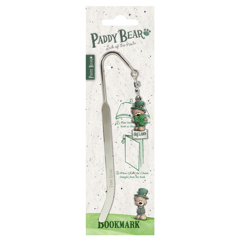 Paddy Bear Irish Designed Bookmark