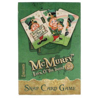 McMurfy Luck O' The Irish Leprechaun Designed Snap Cards
