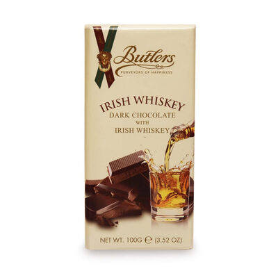 Butlers Dark Chocolate Bar Infused With Real Irish Whiskey