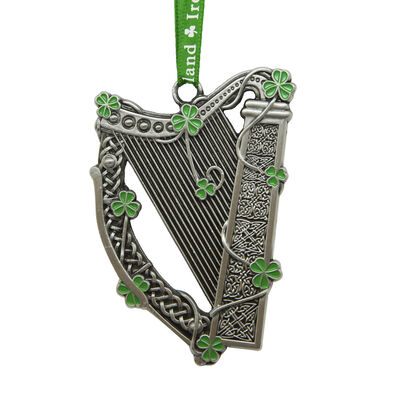 Celtic Hanging Decoration Crafted With Harp Design