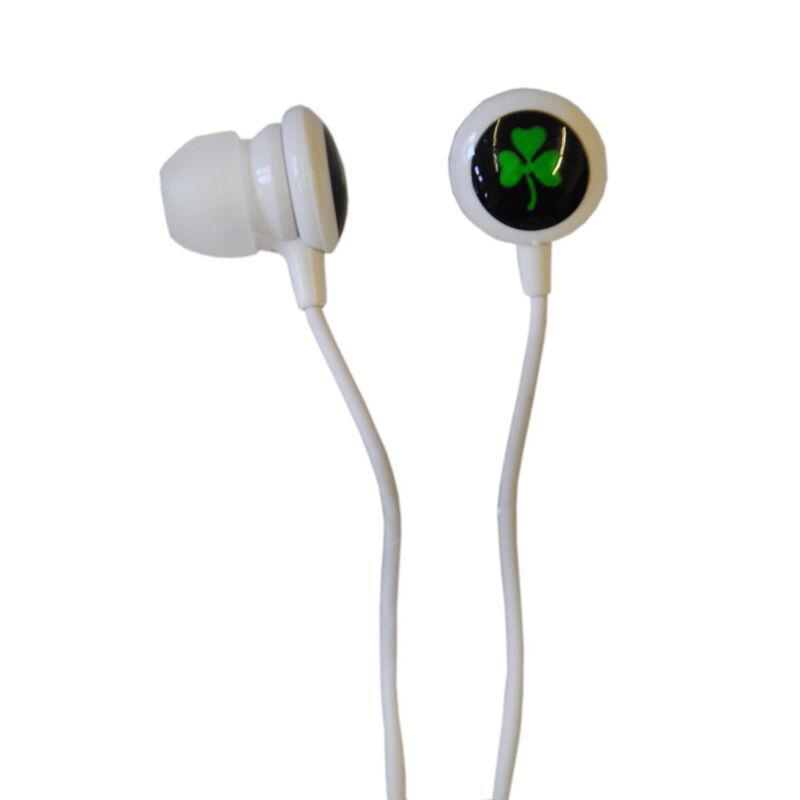 Shamrock Earphones With Microphones