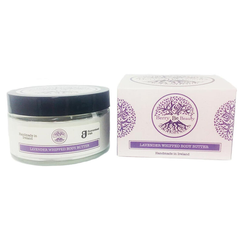 Berry Be Beauty Lavender Whipped Body Butter 200ml – Handmade in Ireland