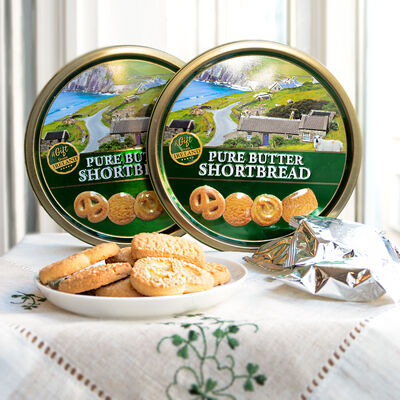 A Gift From Ireland Pure Butter Shortbread Comes In A Tin, 180G ( Two Pack