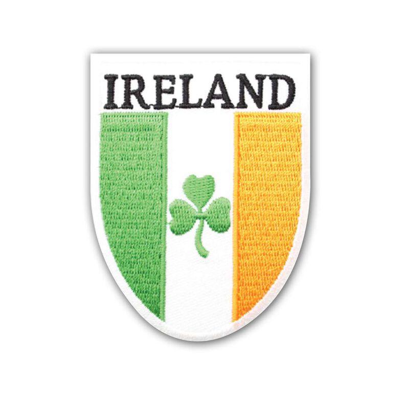 Ireland Tri-Colour Shield Patch