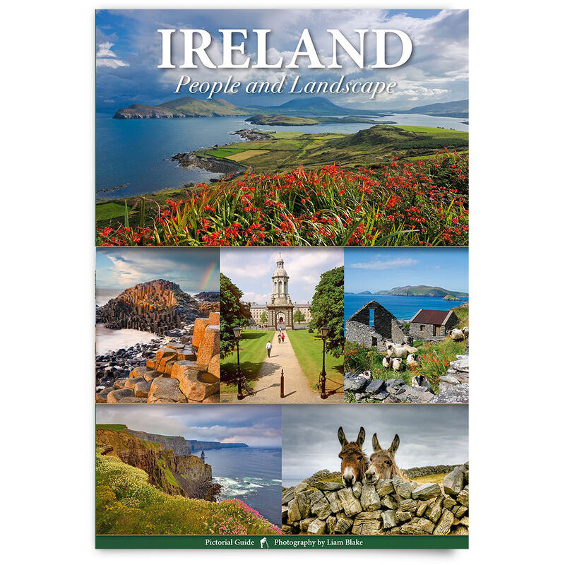 Paperback Pictorial Ireland Guidebook  Illustrated Copy