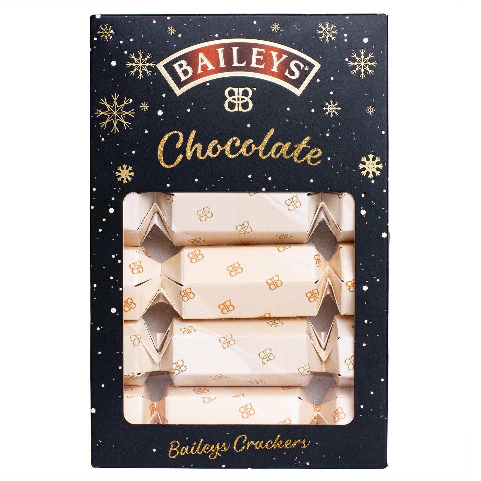 Buy Six Pack Of Baileys Christmas Crackers With Milk Chocolate Truffles 135g Carrolls Irish Gifts