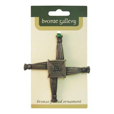 Bronze Gallery St Bridget's Cross Hanging Decoration