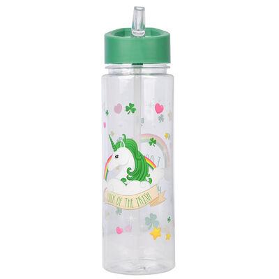 Ireland 500Ml Water Bottle With Luck Of The Irish Unicorn Design