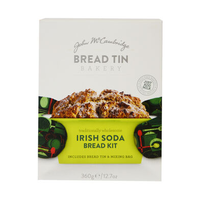 Traditionally Wholesome Irish Soda Bread Kit including Tin & Mixing Bag, 360g