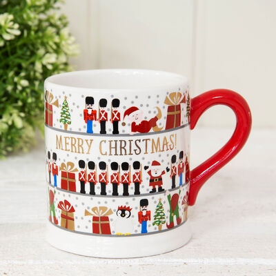 Quicksilver Mug with Foil - Merry Christmas