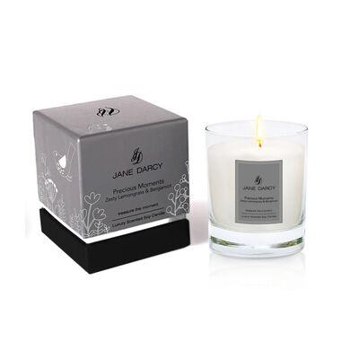 Jane Darcy Precious Moment Candle Zesty Lemongrass & Bergamot, 200gm