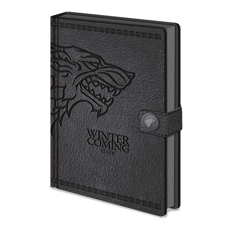 """""""Game of Thrones""""-Stark-Premium-Verschluss-Notizbücher  A5"""