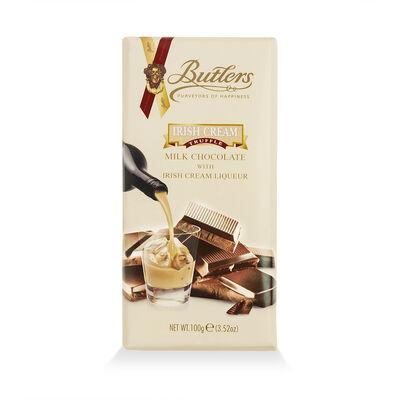 Butlers Milk Chocolate With Irish Cream Liqueur 100G Bar