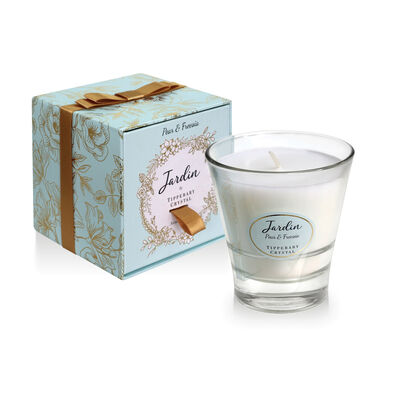 Tipperary Crystal Jardin Collection Pear & Freesia Scented Candle