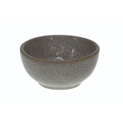 Watervale High-Quality Pottery Ramekin With Celtic Spiral  Grey Colour