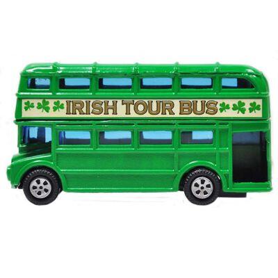 Grüner Irland Doppeldecker-Bus  Souvenir 3 5