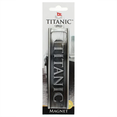 Titanic 1912 White Star Line Collectors Metal Magnet