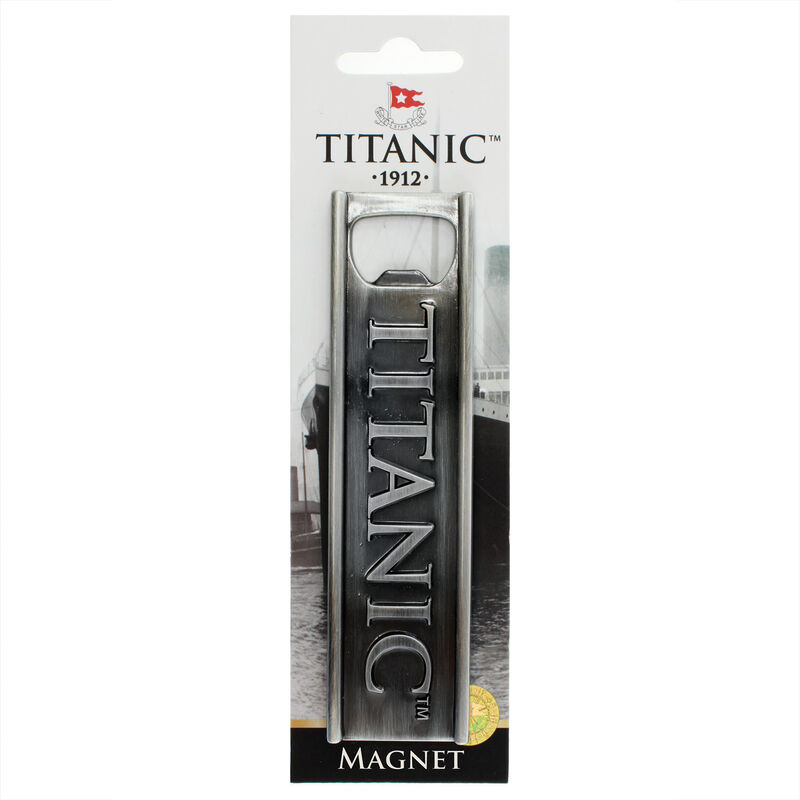 Titanic 1912 White Star Line Collectors Metal Magnet