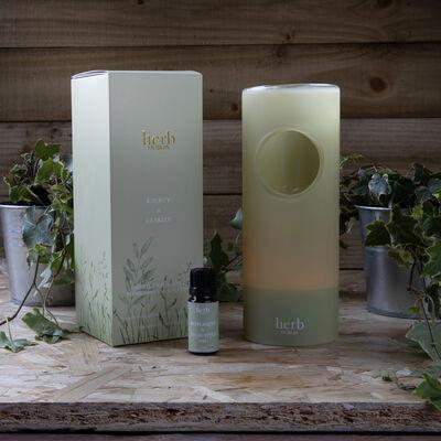 Energy And Clarity Essential Oil Burner Peppermint & Eucalyptus Oil