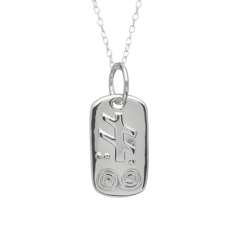 Silver Plated September Pendant