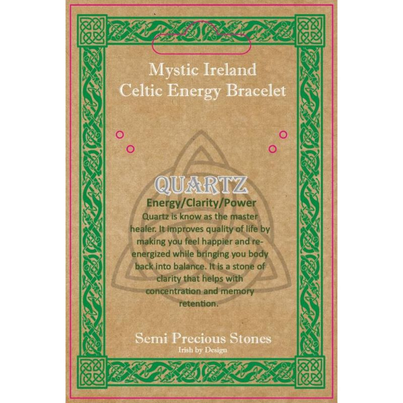 Mystic Ireland Celtic Energy Stones – Quartz Bagged Stones