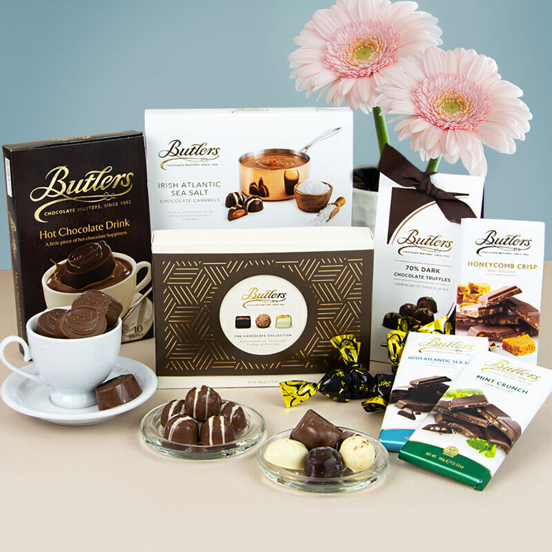 The Butlers Chocolate Sweet Tooth Gift Basket