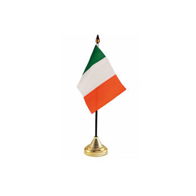 Tricolour Desktop Flag and Stand