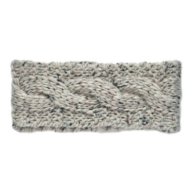 Patrick Francis Ireland Knitted Oatmeal Speckled Wool Headband