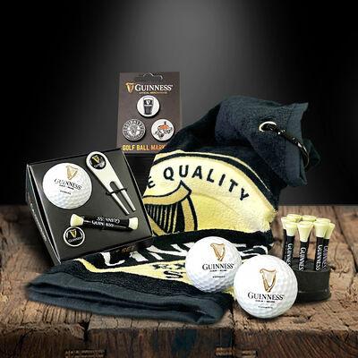 Official Guinness Merchandise Set Of Golf Essentials Gift Basket