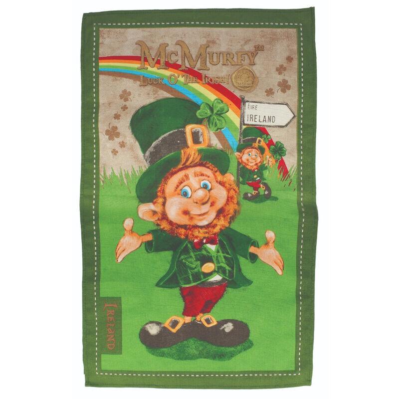 McMurfy The Leprechaun Cotton T-Towel