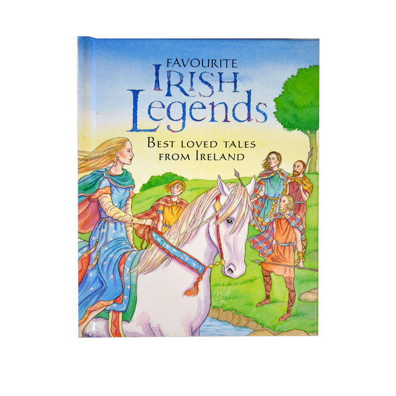 Favourite Irish Legends: Best Loved Tales From Ireland Hardback Book