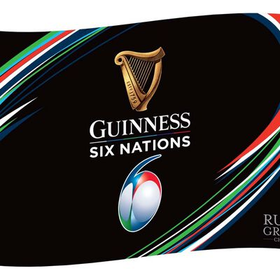 The Guinness Six Nations Rugby Championship Flag – 3 X 5 Foot