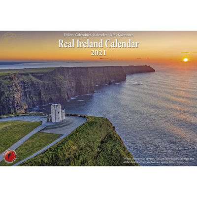 A4 Scenic Views of Ireland Calendar 2021 by Liam Blake