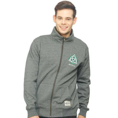 Zippy Top With Irish Celtic Knot And Grindle Design  Green Colour