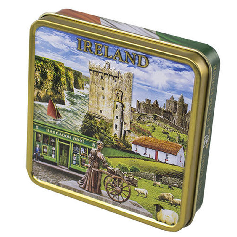 Luxury Dairy Cream Irish Fudge With Ireland Montage Designed Tin  100G