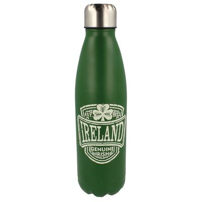 Genuine Irish Ireland College Water Bottle Metal With Irish Crest