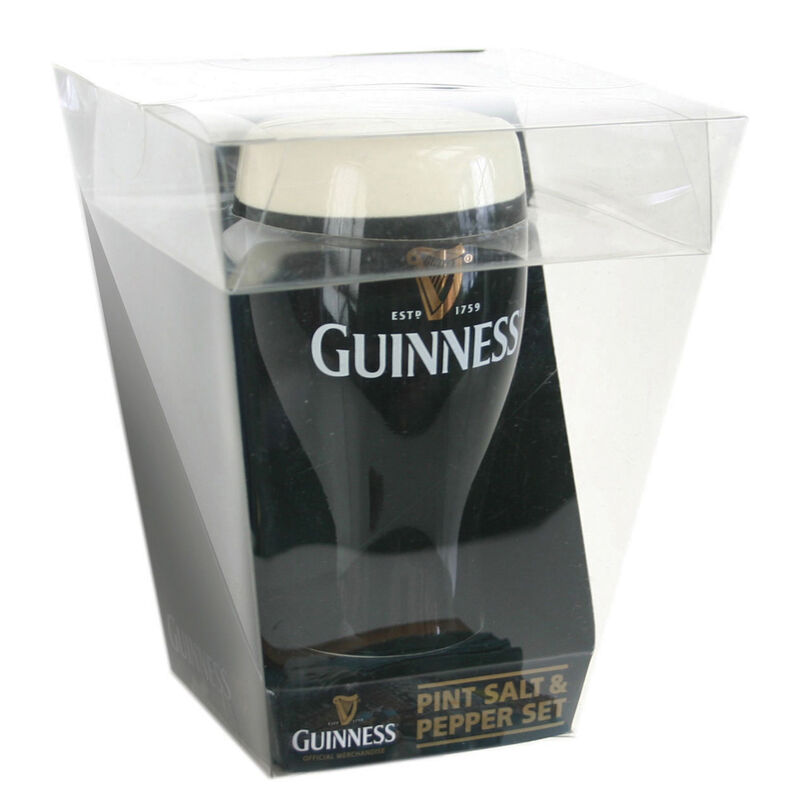 Guinness Ying Yang Salt And Pepper Set