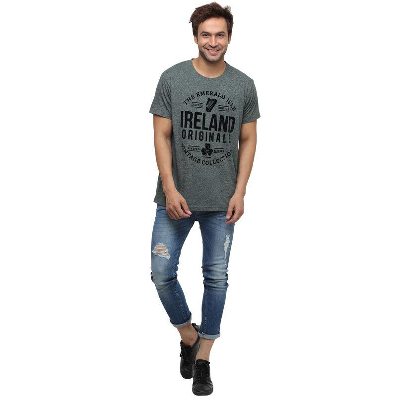 Ireland Originals Emerald Isle T-Shirt With Green Grindle Yarn Design